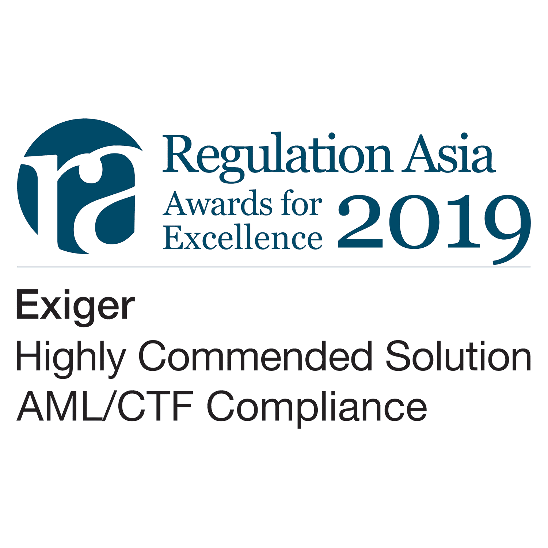 Regulation Asia Award color